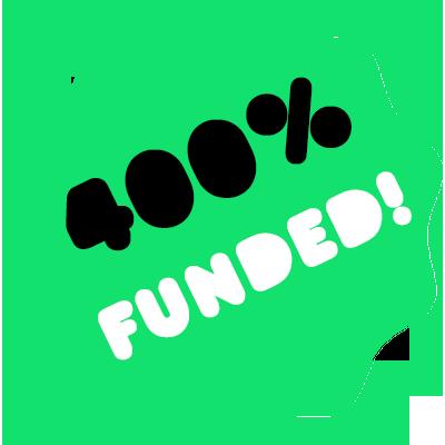 We've reached £100,000 on Kickstarter!