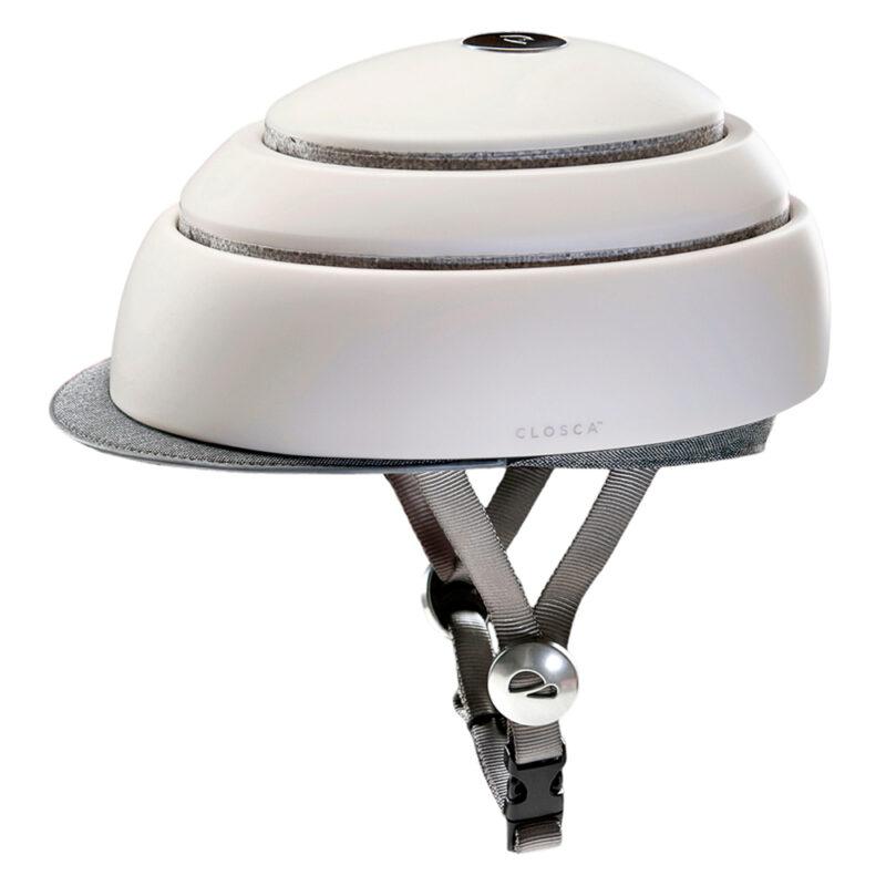 Flit - closca folding helmet white