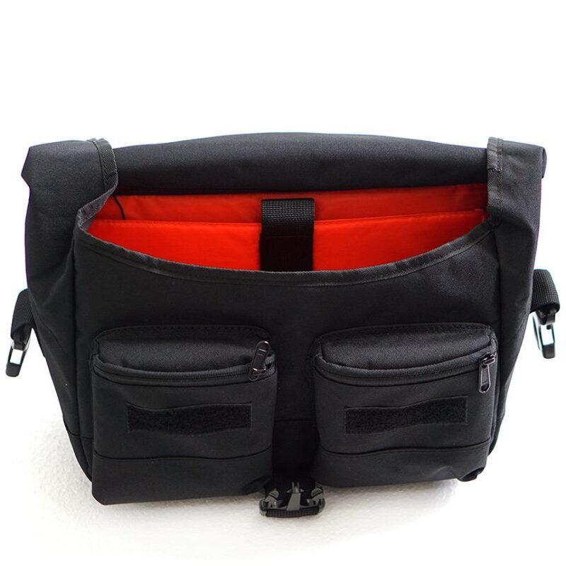 Flit x vincita handlebar bag open