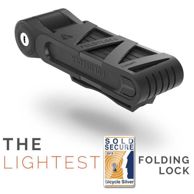 Foldylock lightest folding bike lock