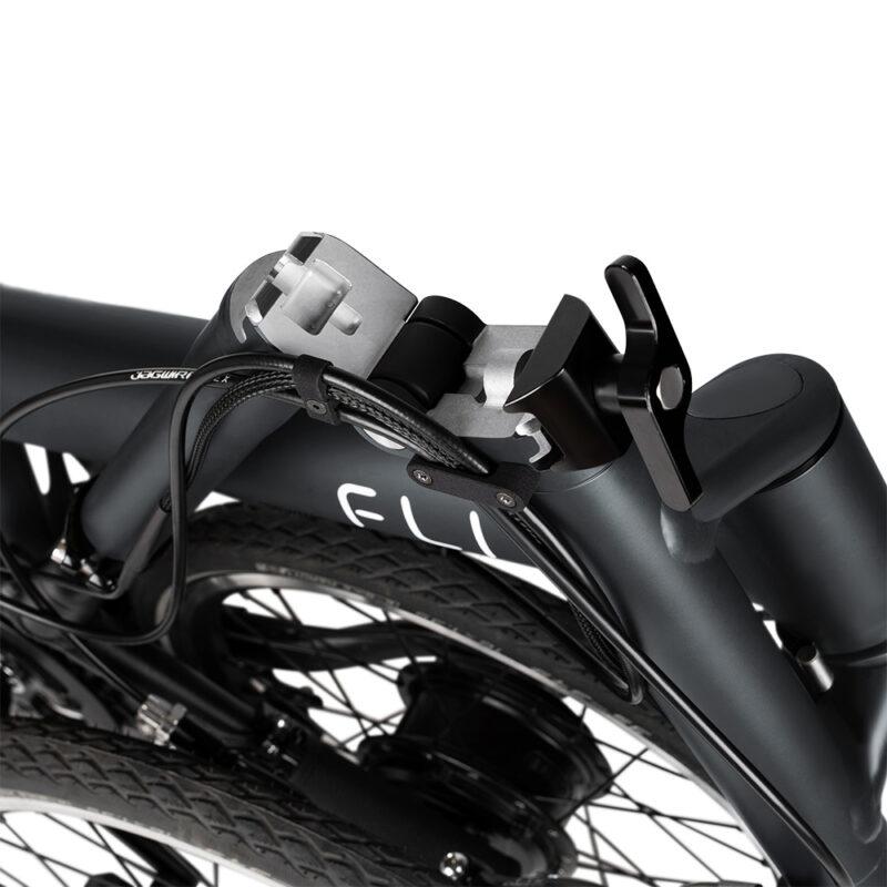 Flit-16 lightweight folding ebike - hinges